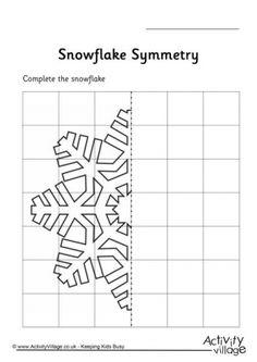 Snowflake Symmetry Worksheet