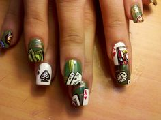 NEED these Poker Nails for #Vegas!