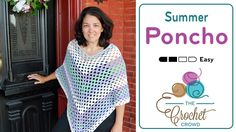 Crochet Summer Poncho Pattern Last summer, Mikey taught us the Cool Poncho pattern. We had lots of requests to make