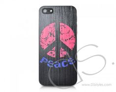 Peace Series iPhone 5 Cases - Black  http://www.dsstyles.com/iphone-5-cases/peace-series-black.html