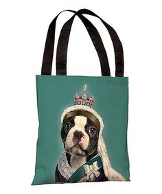 Take a look at this Queen Tote Bag by OneBellaCasa on #zulily today!