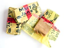 Old-School penny candy= (worse candy for dentists).