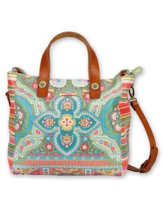 Oilily leather SHOPPER