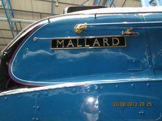 Mallard, York Railway museum 2013