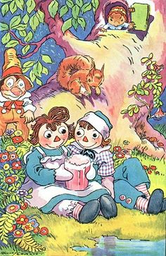 original raggedy ann and andy images - Google Search