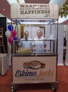 Our famous Eskimo Jacks stand can be found at events all over Southeast Michigan!