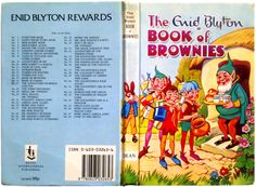 """I Had this Book! """"I hope we don't meet a worm,"""" said Skip, """"it would be rather awkward, wouldn't it?"""" —The Book of Brownies by Enid Blyton"""