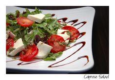 Caprese Salad - Imperium Food & Wine - Wine Bar in Celebration Florida Celebration Florida, Wine Recipes, Cooking Recipes, Food Menu, Caprese Salad, Restaurant, Bar, Food Recipes, Restaurants