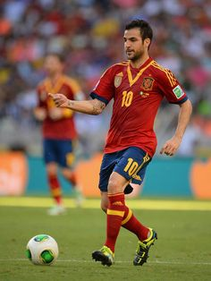 Cesc Fabregas #10 #Spain I definitely will root for Spain again come this World Cup - Brazil 2014