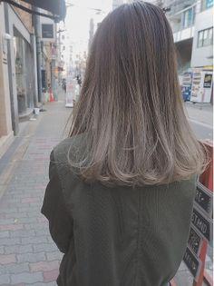 Hair Color Streaks, Ombre Hair Color, Hair Color For Black Hair, Brown Hair Colors, Hair Highlights, Medium Hair Styles, Curly Hair Styles, Tmblr Girl, Haircuts Straight Hair