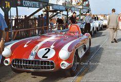 Corvette SR-2 at Sebring 1957