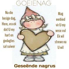 Goeie Nag, Special Quotes, Sleep Tight, Afrikaans, Birthday Wishes, Good Night, Qoutes, Amen, Lilac