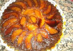 Tarta invertida de manzana apta para celíacos ♡
