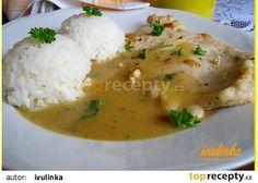 Kuřecí plátky v kořeněné omáčce Good Food, Yummy Food, Easy Cooking, Bon Appetit, Poultry, Mashed Potatoes, Chicken Recipes, Curry, Food And Drink