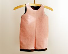 Baumwolle+und+Leinen+Latzhose+-+Nostalgie+Look+von+Alua+Liulé+auf+DaWanda.com