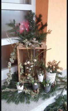 weihnachtsdeko mit birkenrinde diy upcycling life. Black Bedroom Furniture Sets. Home Design Ideas