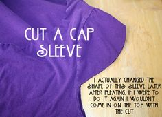 refashion t-shirts | DIY: Art Nouveau Inspired T Shirt Refashion Tutorial | The Renegade ...