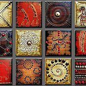 Картины и панно ручной работы. Ярмарка Мастеров - ручная работа Африка. Handmade.