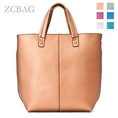 Free Ship Genuine Leather Women Tote Shopper Bag Ladies Shoulder Purse Handbag