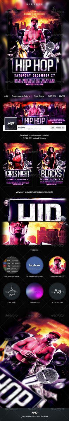 Underground Hip Hop  Rap Flyer Template #album cover #black girls  • Download here → https://graphicriver.net/item/underground-hip-hop-rap-flyer-template/6051103?ref=pxcr