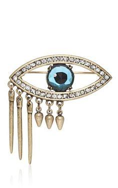 Eye brooch.
