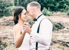 After Wedding Shooting auf einer traumhaften Waldlichtung
