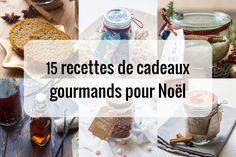 15 recettes de cadeaux gourmands faits maison pour Noël via @cuisineaddict Bottle, Deco, Flask, Decor, Deko, Decorating, Decoration, Jars