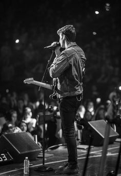 Shawn on stage