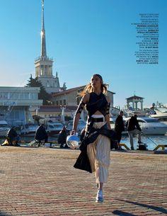 In Sochi (Vogue Russia)