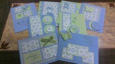 One sheet wonder cards