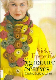 Книга: Nicky Epstein - Signature Scarf (шарфики) - Вяжем сети, спицы и крючок - ТВОРЧЕСТВО РУК - Каталог статей - ЛИНИИ ЖИЗНИ