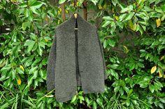 Chaleco Mujer,  Abrigo lana, Abrigo Mujer, Chaleco lana, Chaleco tejido, Abrigo tejido, Chaleco Gris