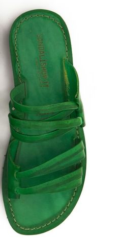 Cute Green Sandals - I WANT :-)