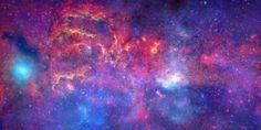 Астрономия для детей: Газовое облако и чёрная дыра в центре нашей галакт...