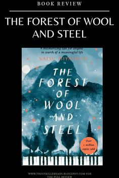 Check out my book review of The Forest of Wool and Steel. A great book for music lovers, musicians and piano tuners alike. Check out my new bookblog. Great Books, My Books, Books To Read, Music Lovers, Book Lovers, Japanese Books, Meaningful Life, Book Reviews, The Life