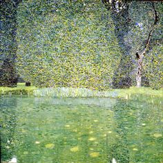 Global Gallery 'Pond at Schloss Kammer on the Attersee by Gustav Klimt Painting Print on Wrapped Canvas Size: H x W x D A4 Poster, Poster Prints, Neue Galerie New York, Vienna Secession, Haunting Stories, Parcs, Les Oeuvres, Painting Prints, Art Nouveau