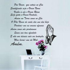 Adesivo de Parede Oração do Pai Nosso