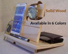 Phone Dock Headphone Dock Phone Charging by ganderandgooseshop