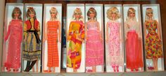 1967-1970 Vintage Mod TNT Barbies | by The doll keeper