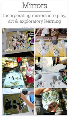 Incorporating Mirrors | using mirrors in play, learning and spaces for children