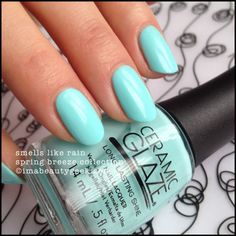Ceramic Glaze Smells Like Rain - Spring Breeze Collection 2015