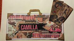 Madeleines Scrapp-blogg: Namnskylt till Camilla