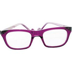 Anne et ValentinThese bold, purple glasses are not for shrinking violets. T - The Independent
