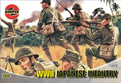 Airfix 1:72 WWII Japanese Infantry