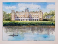 Syon House from Across the Thames