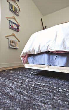 Homemade bedframe.DIY