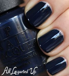 OPI Incognito in Sausalito OPI San Francisco for Fall 2013 Blues & Browns Nail Polish Swatches & Review