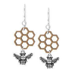 Busy Little Bee Earrings | Fusion Beads Inspiration Gallery