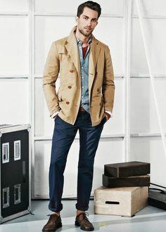 Light Brown Jacket Mens QHlEWg