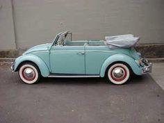 1962 Volkswagon Beetle Cabriolet